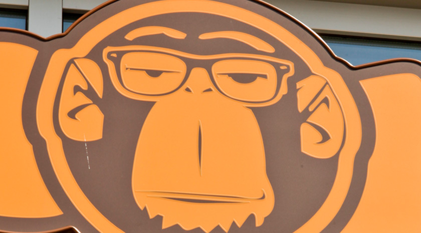 Logodesign Monkey Donuts