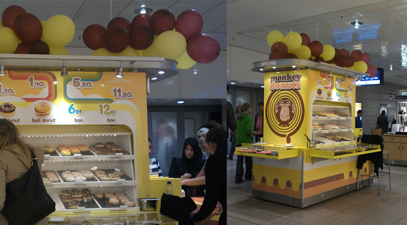 Retaildesign Monkey Donuts