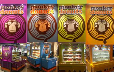 Retaildesign Monkey Donuts